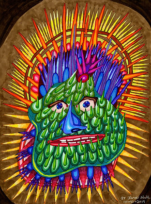 """""""Spike Face"""" by James Hall"""