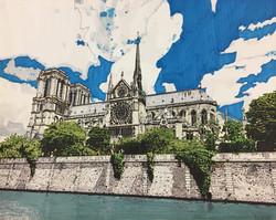 """Notre Dame Cathedral"" by R. J. Juguilon"