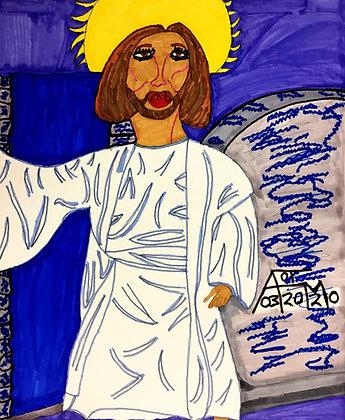 """""""Jesus 1"""" by Allen McNair"""
