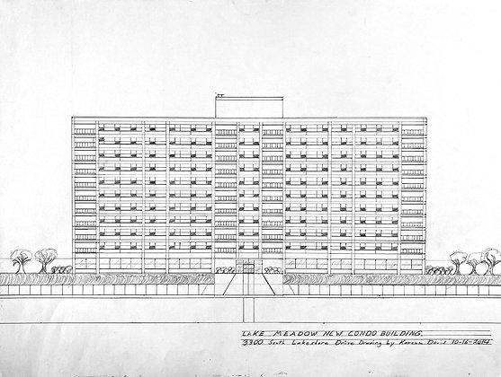 """Lake Meadow New Condo Building"" by Kareem Davis"
