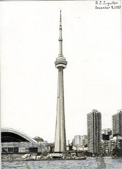 """CN Tower"" by R. J. Juguilon"