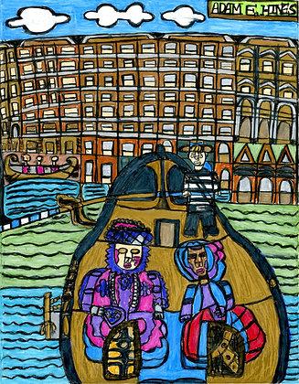 """Venetian Carnival"" by Adam Hines"