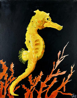 """""""Seahorse"""" by Alfred Banks"""