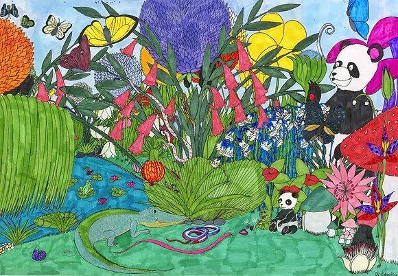 """Fantasy Land"" by Jacqueline Cousins Oliva"