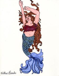 """""""Dancing Mermaid"""" by Matthew Bianchi"""