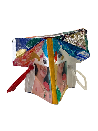 """Untitled (Carton Girls)"" by Ken Bortman"