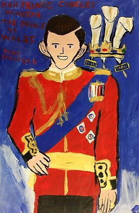 """Prince Charles"" by Ruby Bradford"