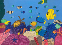 """""""Coral Reef"""" by David Holt"""