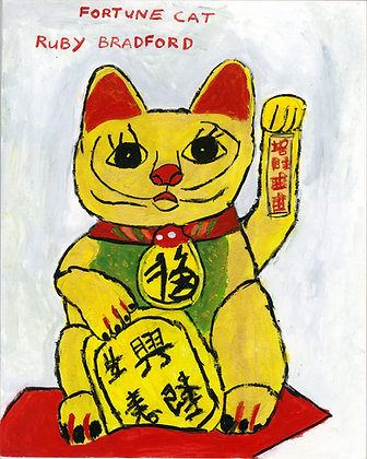 """Fortune Cat"" by Ruby Bradford"