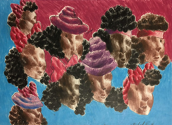 """""""Lady Heads"""" by Michael Smith"""