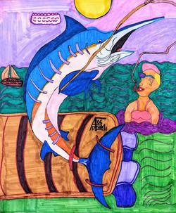 """""""Swordfishing"""" by Allen McNair"""