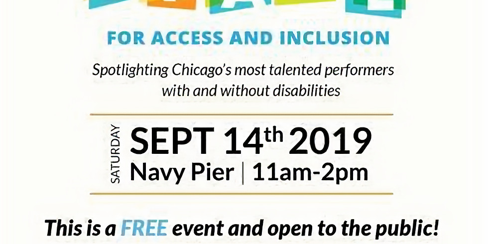 Center Stage for Access and Inclusion