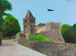 """Frankenstein's Castle"" by Janno Juguilon"