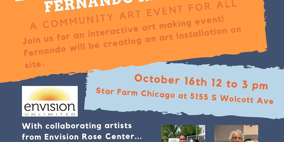 LIVE Art Making Event with Fernando Ramirez!!