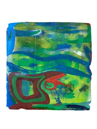 """""""Untitled Greenscape"""" by Ken Bortman"""