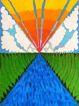 """""""Lazy River"""" by Bill Douglas"""