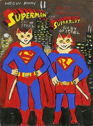 """Supercats"" by Ruby Bradford"