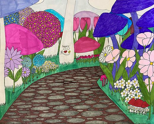 """A Hopeful Time"" by Jacqueline Cousins Oliva"