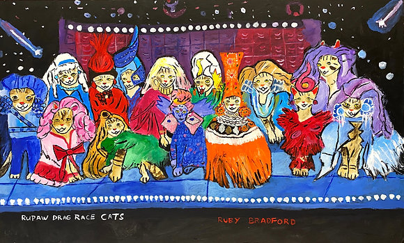 """RuPaw's Drag Race"" by Ruby Bradford"