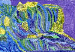 """""""Purple Waves"""" by Allen McNair"""