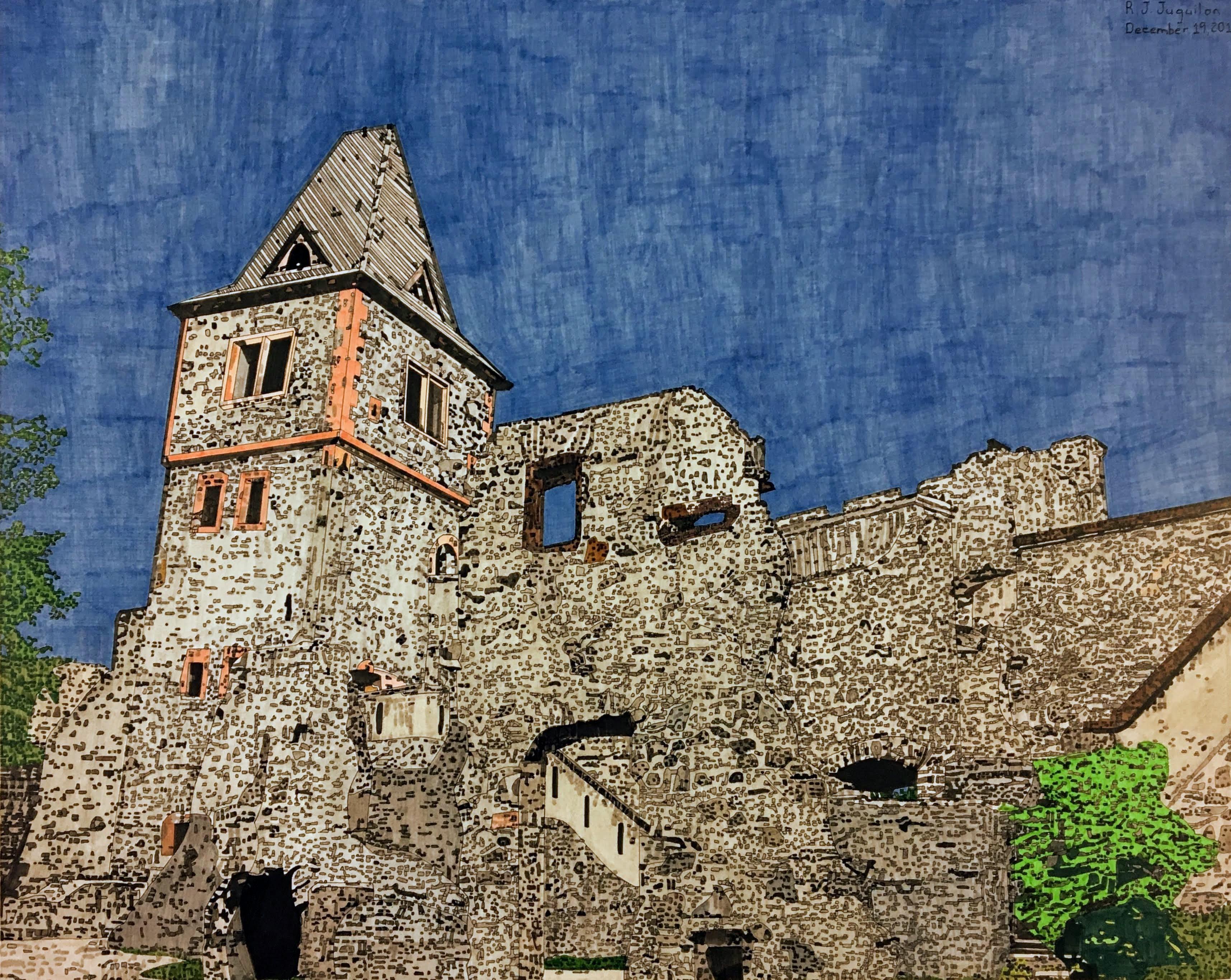 """""""Frankenstein's Castle"""" by R. J. Juguilon"""