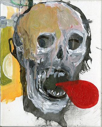 """Skull Thoughts"" by Luke Shemroske"