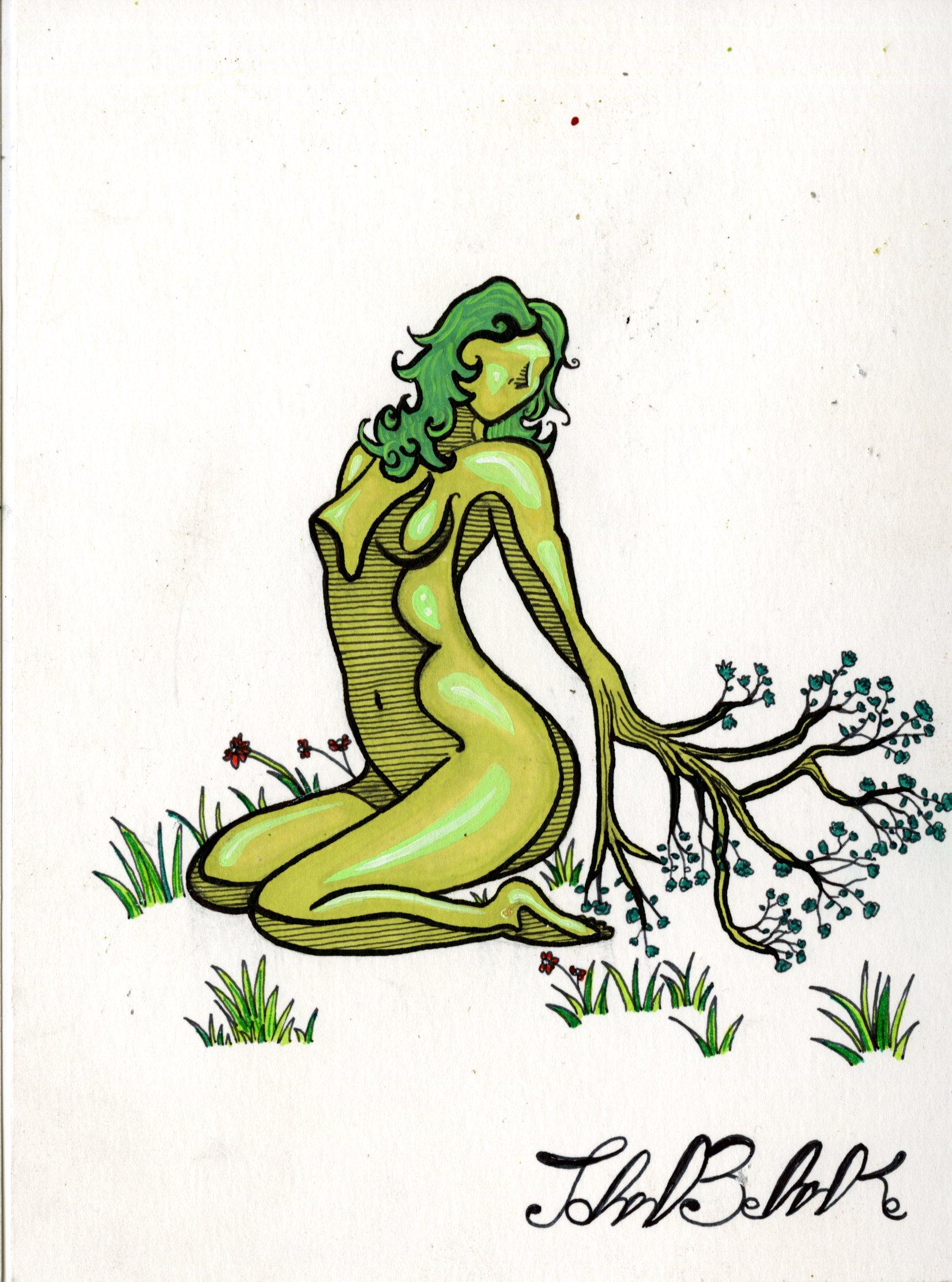 JB_tree woman340