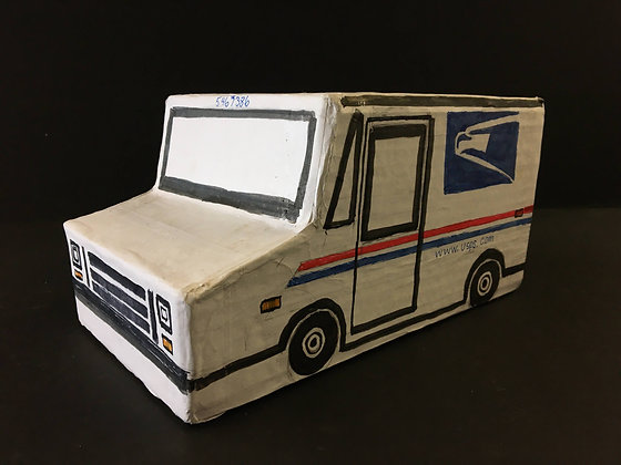 """USPS Truck"" by Ricky Willis"