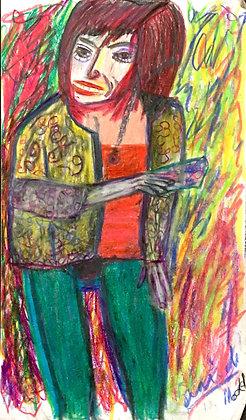 """Model"" by David Blaisdell"