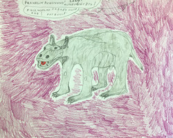 """""""Rockwyeler Dog"""" by Franklin Armstrong"""