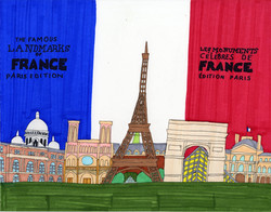 """""""Famous Landmarks of France"""" by Stephon Doby"""