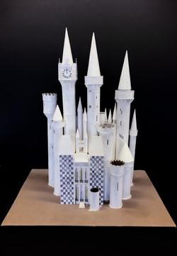 """White Fantasy Castle"" by Janno Juguilon"