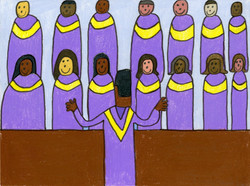 """Gospel Choir"" by David Holt"