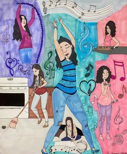 """""""Motivation"""" by Jacqueline Cousins"""