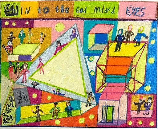 """Into the God Mind Eyes"" by Bobby Tirelli"