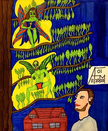 """""""Fairies"""" by Allen McNair"""