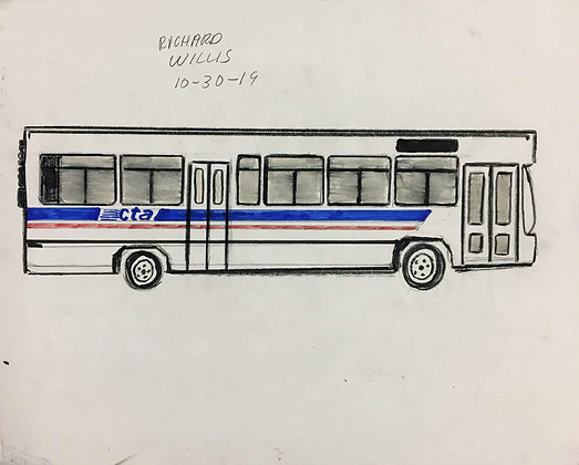 """CTA Bus"" by Ricky Willis"