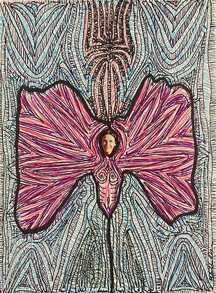 """""""Butterfly Woman"""" by Bill Douglas"""