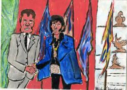 """Elvis Meets Nixon"" by Michael Hopkins"