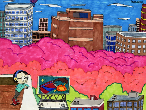 """""""Billboard Dreams"""" by Jason Harris"""