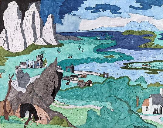 """""""Seaside Dwelling"""" by Jason Harris"""