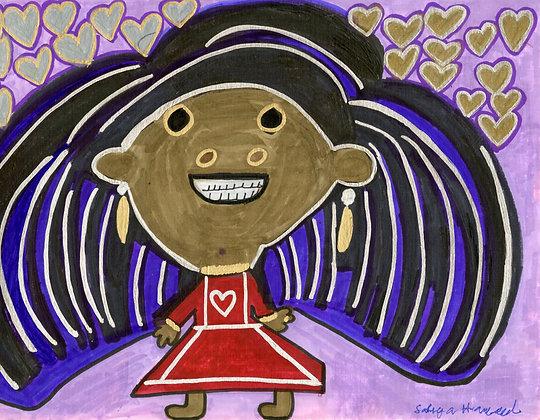 """""""The Girl"""" by Safiya Hameed"""
