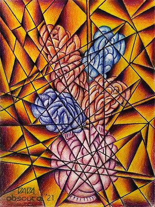"""""""Fractured Flowers"""" by Paul Kowalewski"""