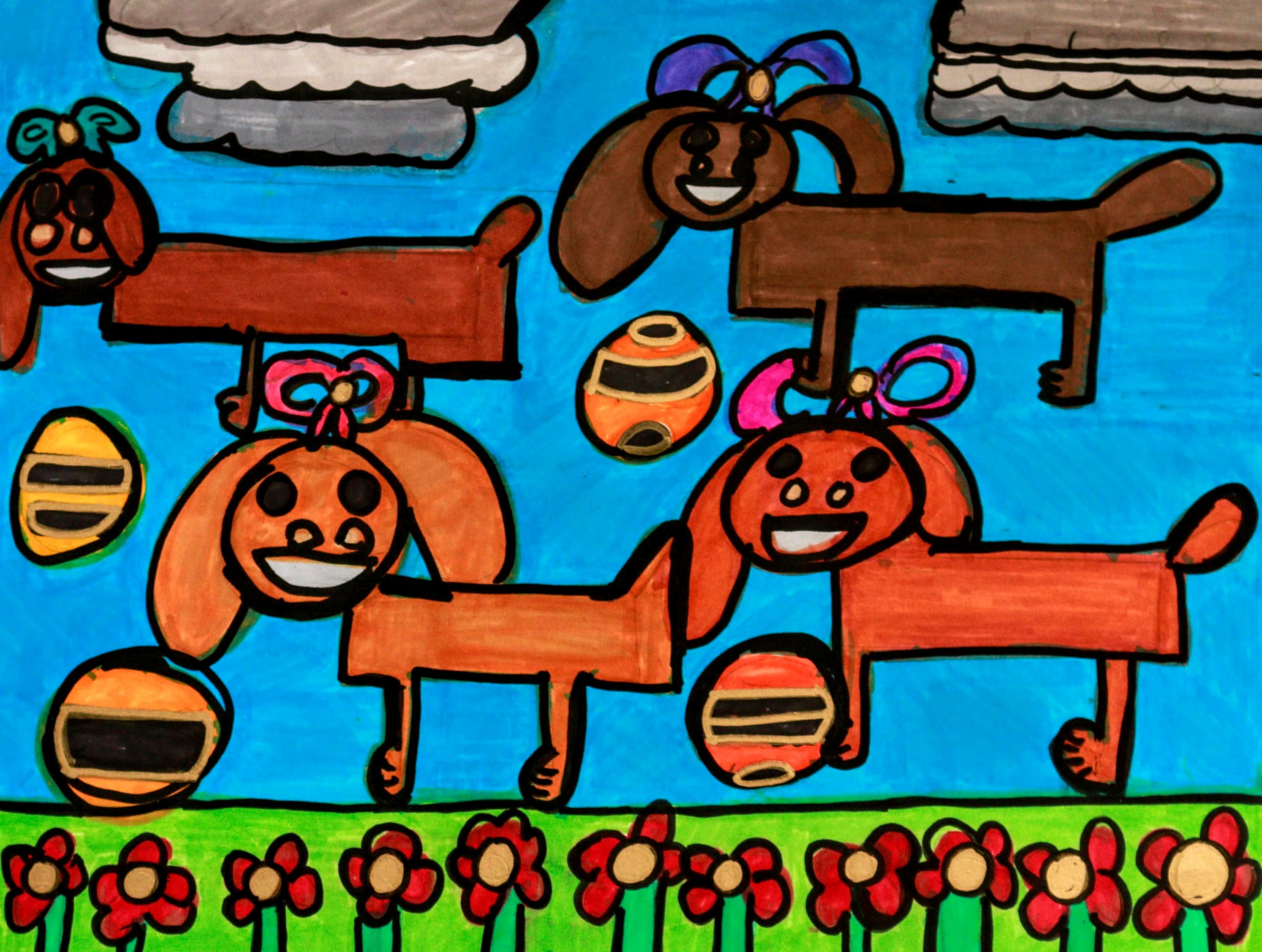 """""""Dog Princesses"""" by Safiya Hammeed"""