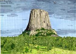 """""""Devil's Tower"""" by R.J. Juguilon"""