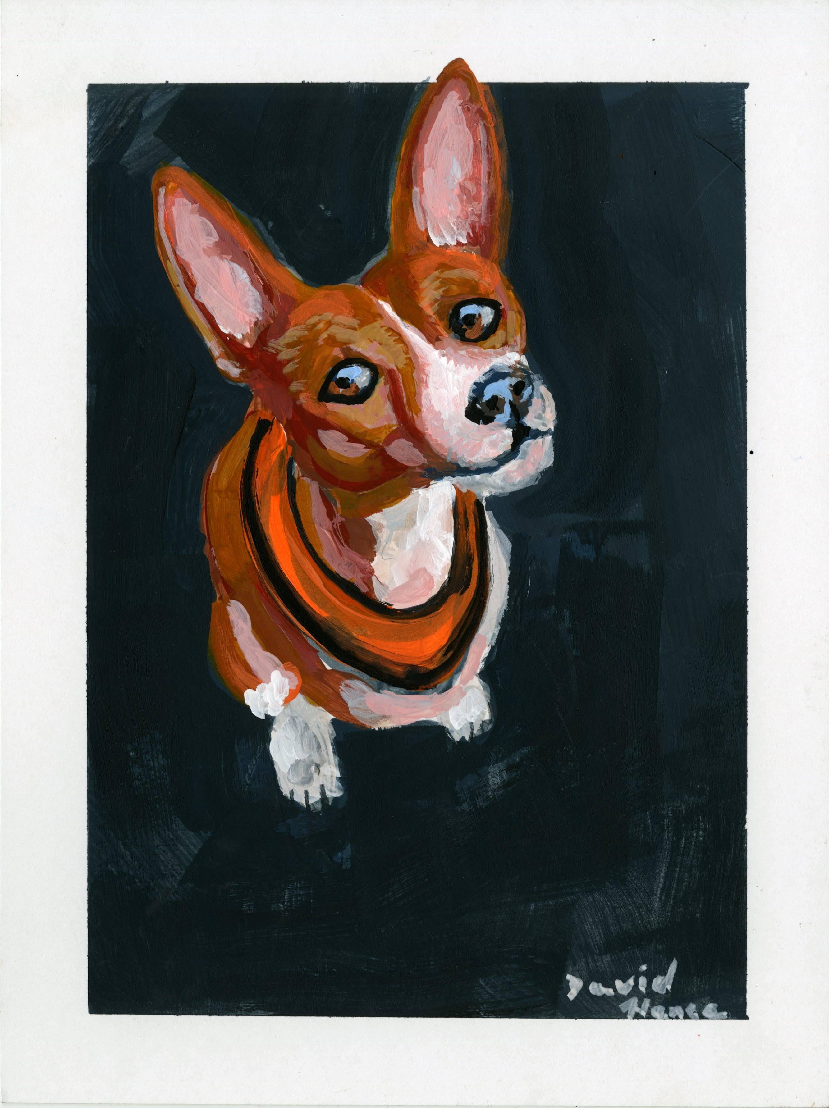 """Little Dog"" by David Hence"