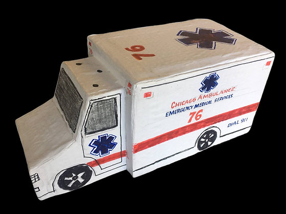 """Large Ambulance"" by Ricky Willis"