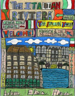 """The Italian Riviera"" by Adam Hines"
