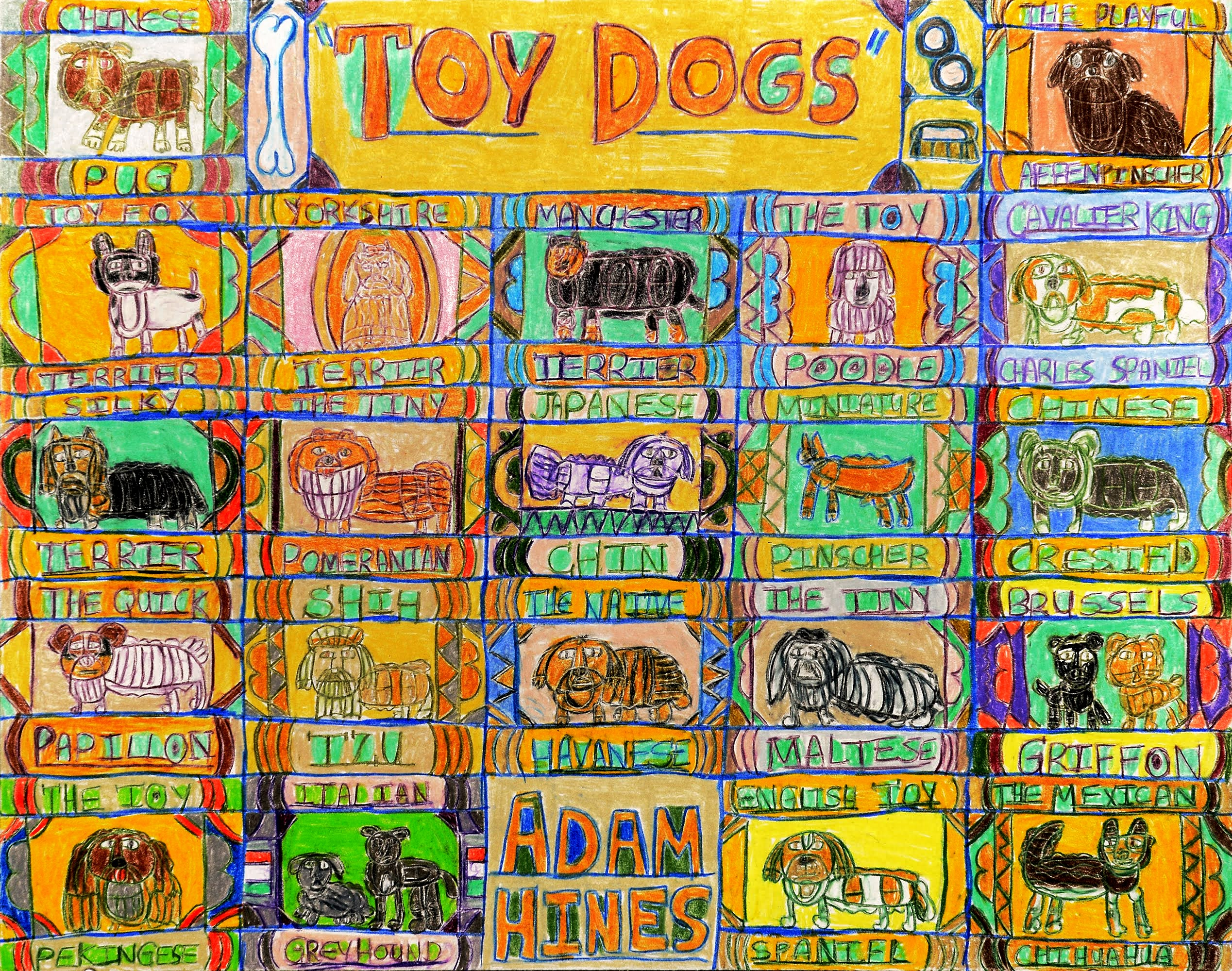 """""""Toy Dogs"""" by Adam Hines"""