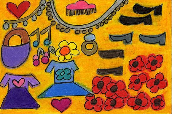 """Princess Accessories"" by Safiya Hameed"